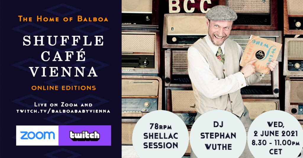 Shuffle Cafe Online Session with Stephan Wuthe